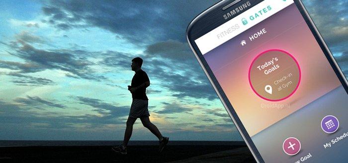 Nudge Kick app verplicht je van de bank af te komen