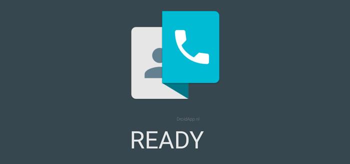 Ready 2.0 dialer-app met Material Design in Play Store
