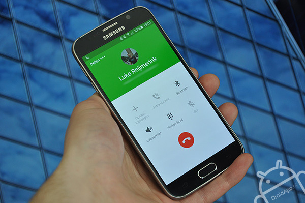 Samsung Galaxy S6 bellen