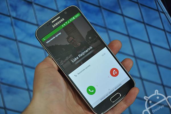 Samsung Galaxy S6 telefoon
