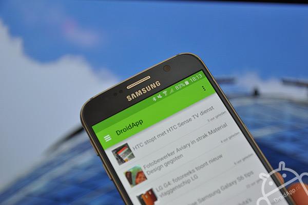 Samsung Galaxy S6 droidapp