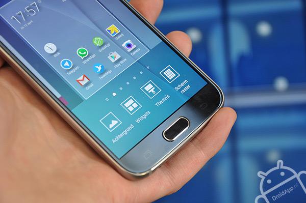 Samsung Galaxy S6 grid