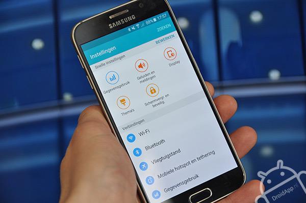 Samsung Galaxy S6 instellingen