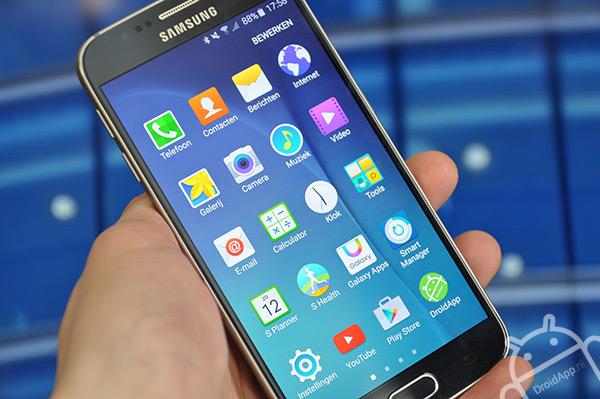 Samsung Galaxy S6 menu