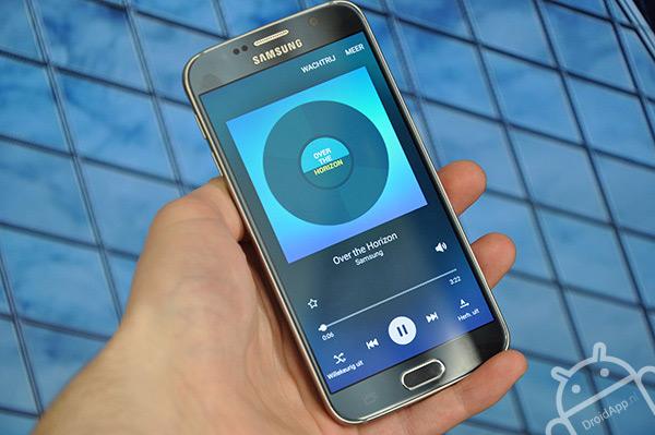 Samsung Galaxy S6 muziekspeler