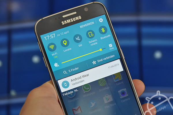 Samsung Galaxy S6 notificatie