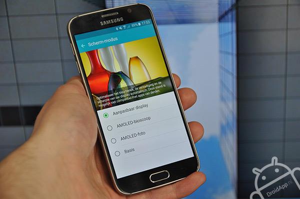 Samsung Galaxy S6 scherm