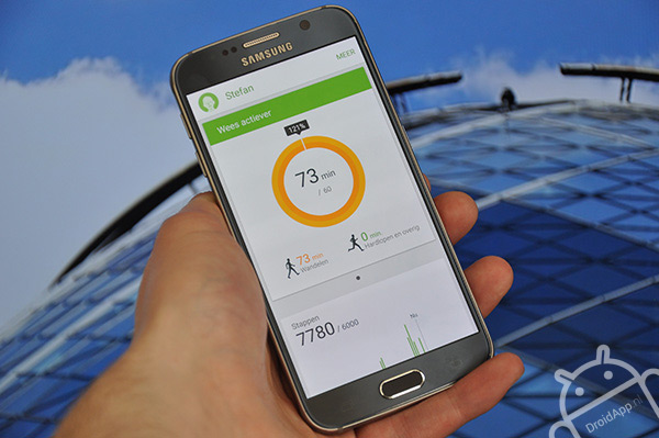 Samsung Galaxy S6 Smart Health