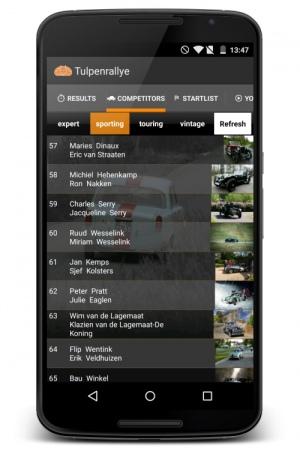 Tulpenrallye app 2015