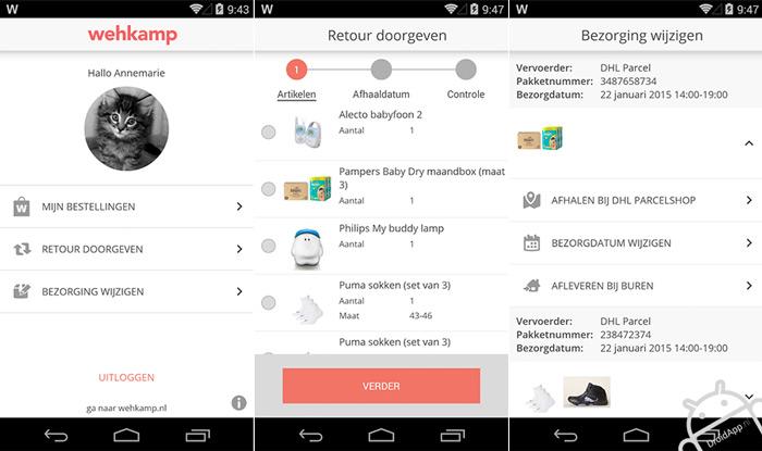 Wehkamp App