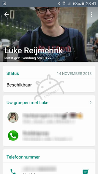 WhatsApp Material Design 2.12.33