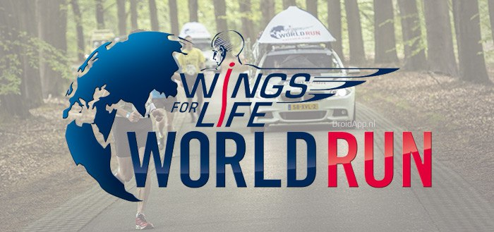 Wings for Life World Run app uitgebracht voor Android