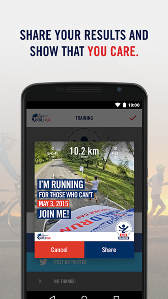 Wings for Life World Run App
