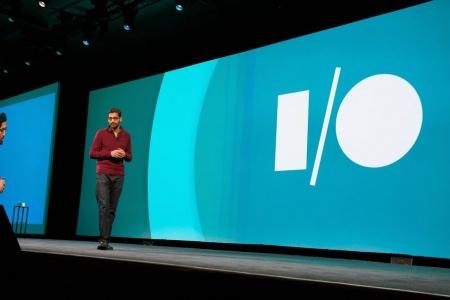 Sundar Pichai op Google I/O 2014