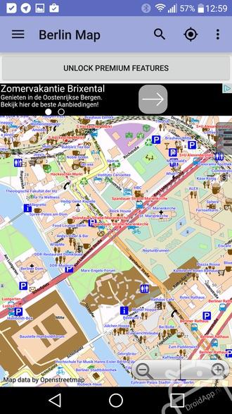 Offline kaart Berlijn