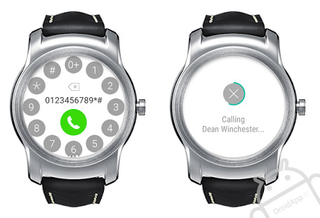 LG Call for Android Wear