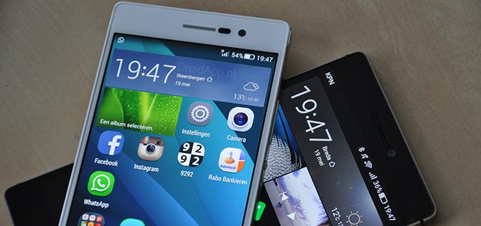 Huawei P8 vs. Huawei Ascend P7: de grote vergelijking