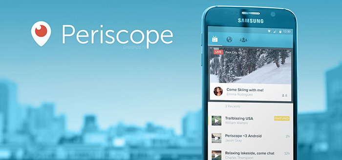 Periscope update brengt 'kaarten' en Nederlandse taal