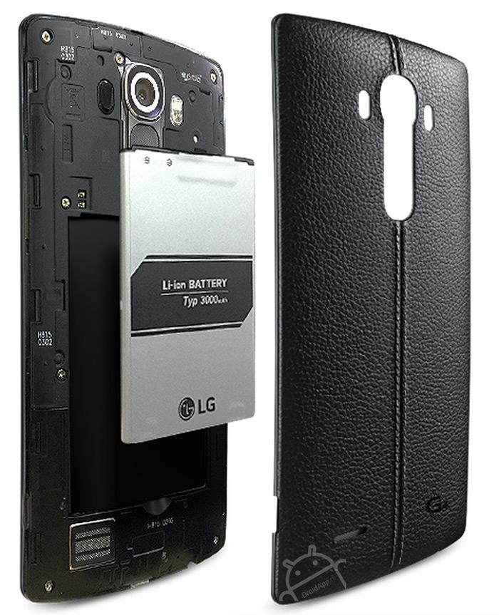 LG G4 accu