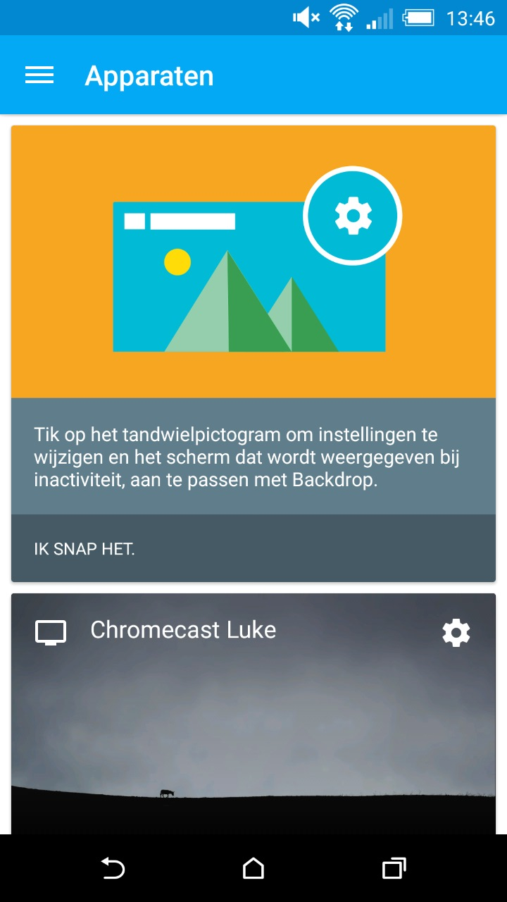 Chromecast Applicatie Ontvangt Kleine Update Apk