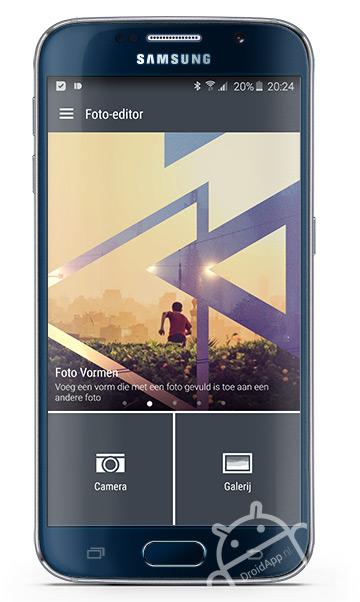 HTC Foto editor