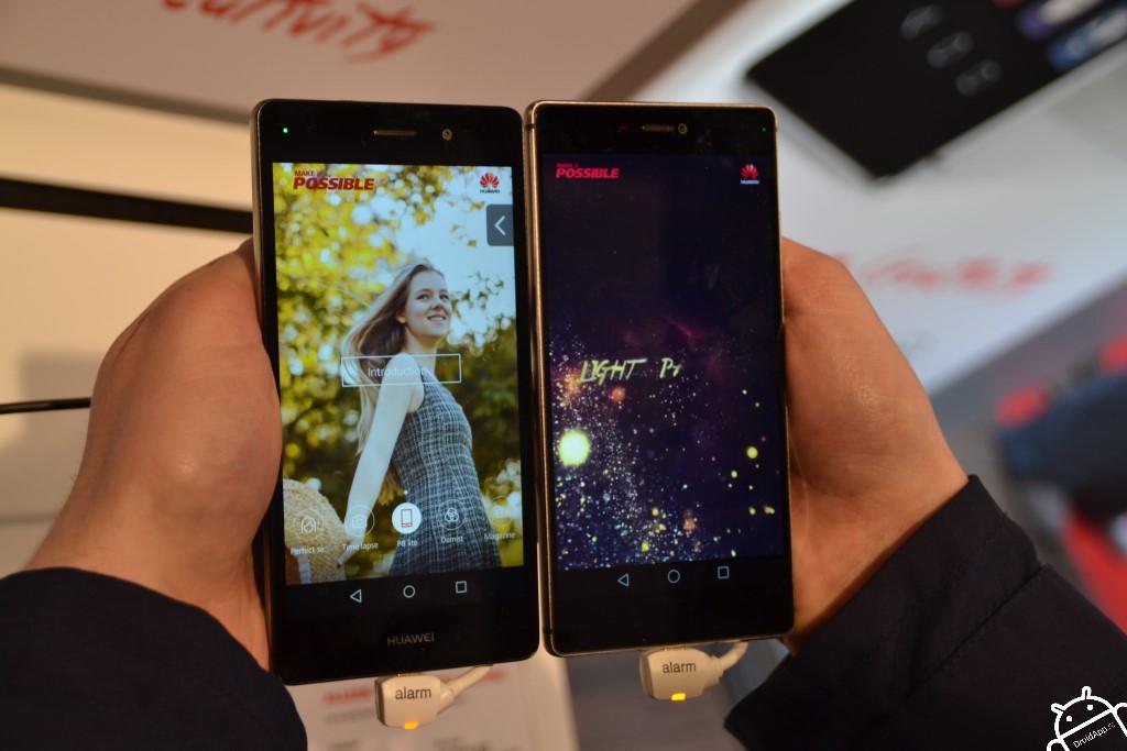 Huawei P8 en P8 Lite