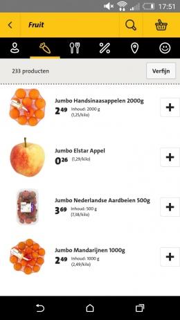 jumbo-producten