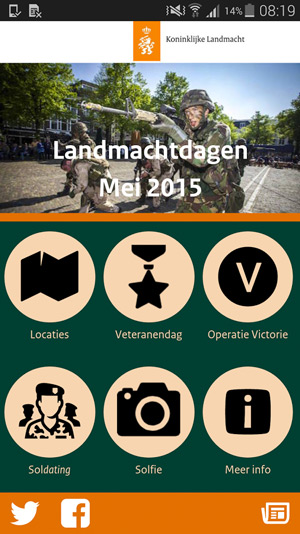 Landmachtdagen 2015 app