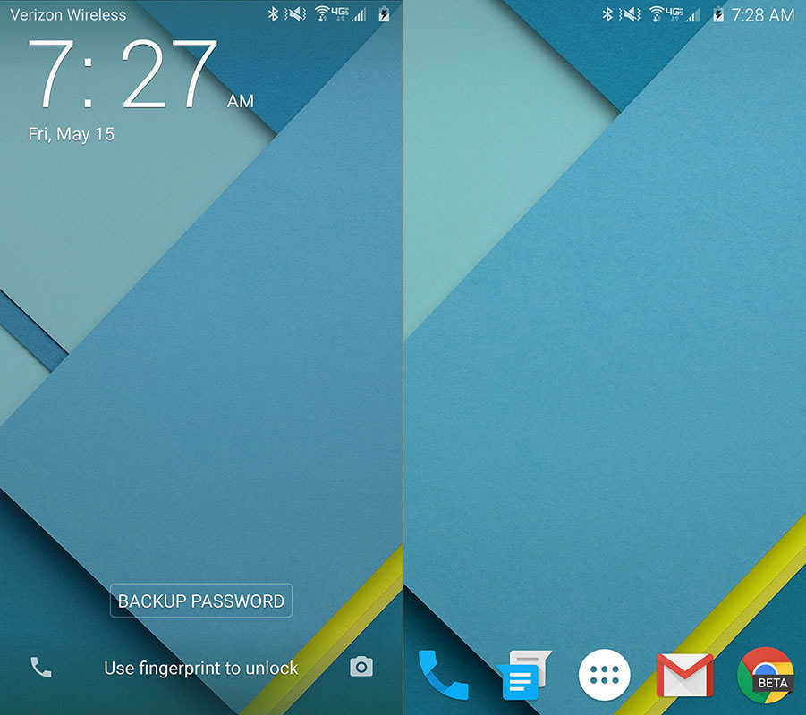 Material Design Galaxy S6