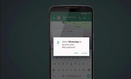 Android M permissie