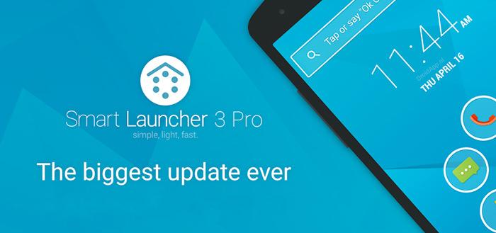 Smart Launcher Pro 3 voorzien van Material Design