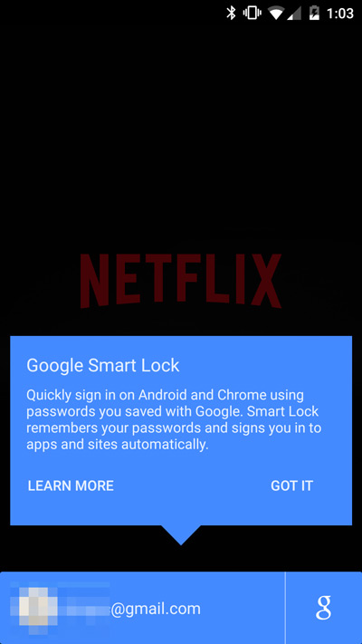Smart Lock Passwords