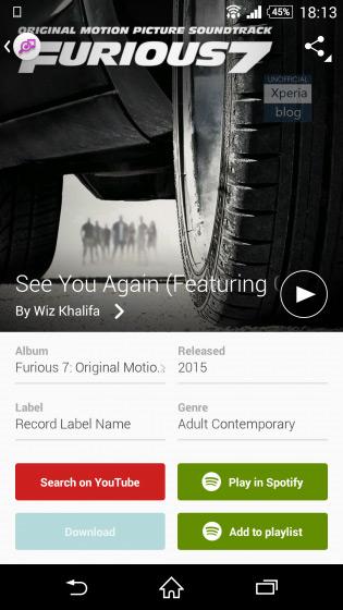 TrackID Spotify
