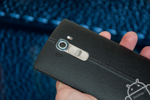 LG G4 achterkant leer