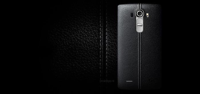 LG begint met uitrollen Android 7.0 Nougat voor LG G4