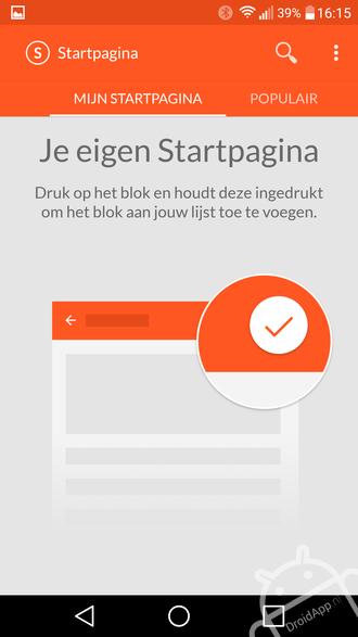 Startpagina.nl app