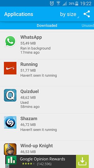 Unused App Remover