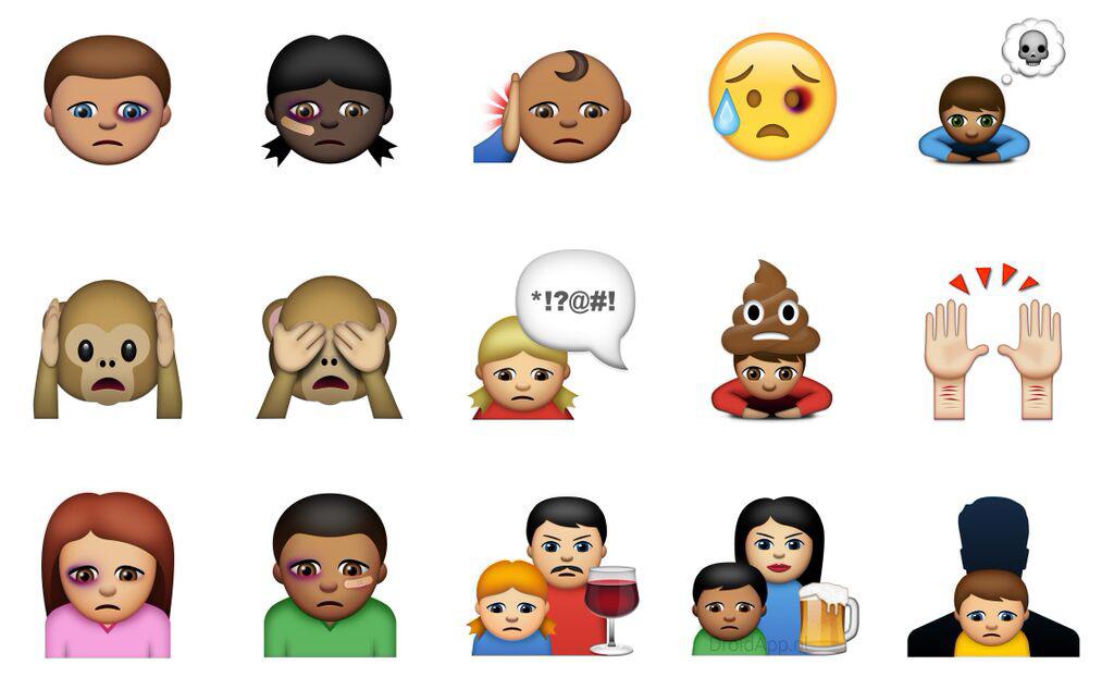 Abused emoji