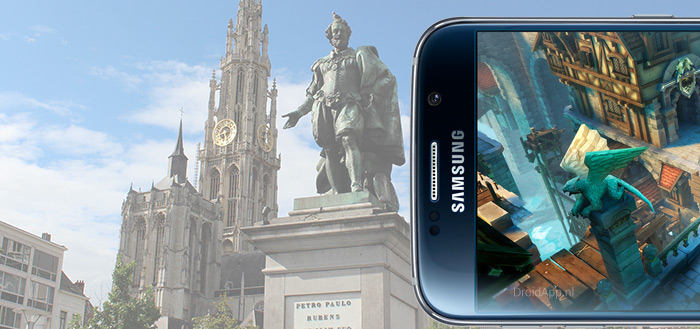 Antwerpen heeft smartphone-vriendelijke voetpaden