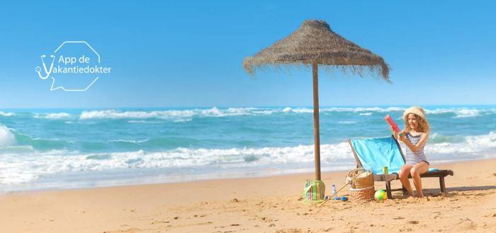 App de Vakantiedokter: medisch advies voor op vakantie