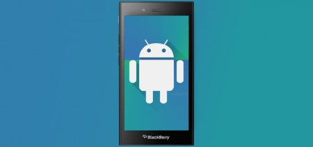 'BlackBerry test Android-smartphone met processor Samsung Galaxy S6'