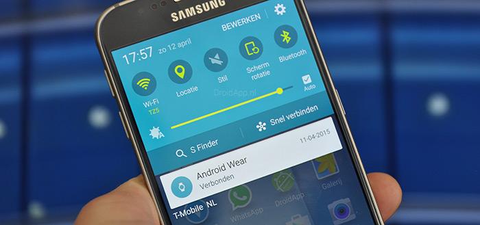 Samsung Galaxy S6-serie krijgt beveiligingsupdate maart 2018 uitgerold
