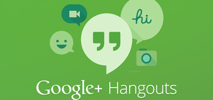 Google introduceert strakke, nieuwe web-interface Hangouts