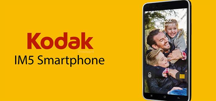 Kodak IM5: eenvoudige, camera-smartphone uitgebracht