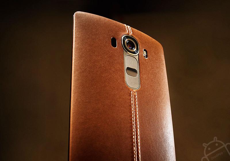 LG G4 leer bruin