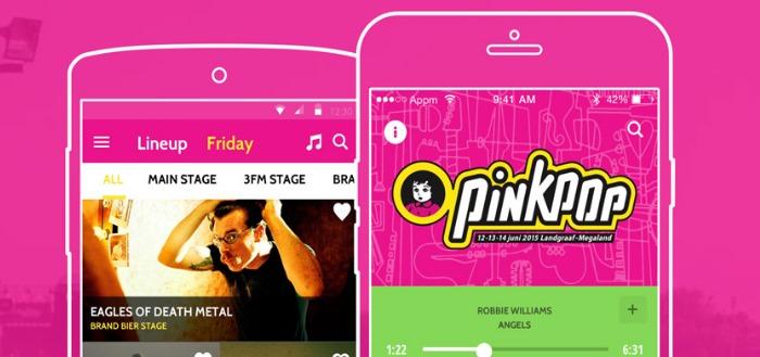 Pinkpop 2015: alle festival informatie in handige app