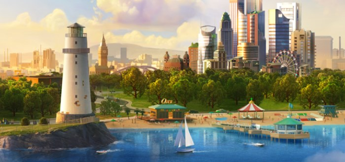 Update SimCity BuildIt brengt je naar het strand