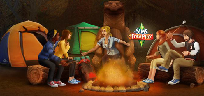 The Sims FreePlay: Great Outdoors update uitgebracht