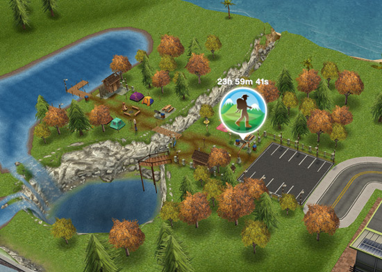 The Sims FreePlay Great Outdoors