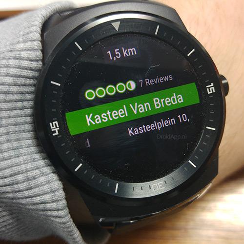 TripAdvisor Android Wear
